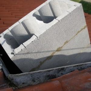Stavba nového komína